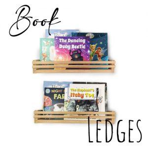 Book Cases & Book Ledges
